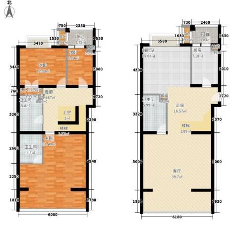 南波湾3室0厅3卫1厨239.00㎡户型图