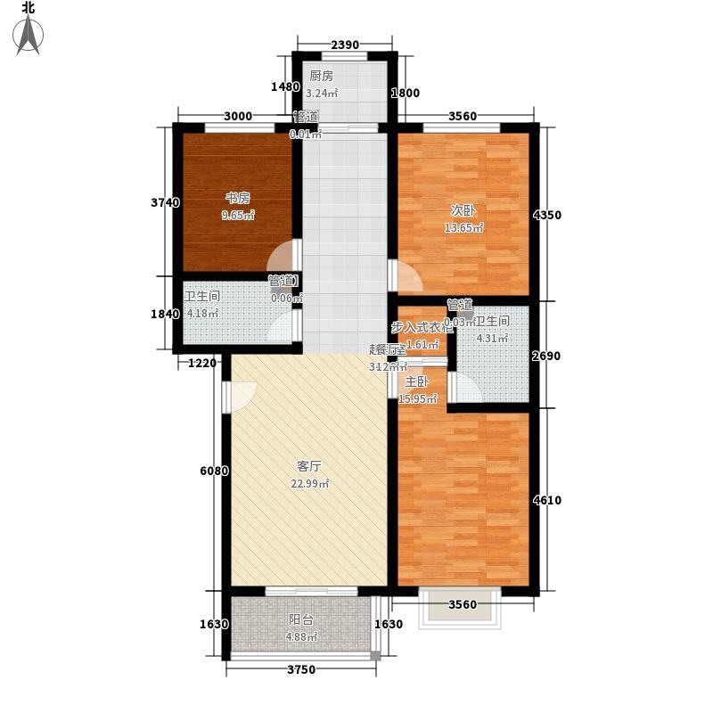 乐活城三期乐活城三期户型图E户型3室2厅2卫1厨户型3室2厅2卫1厨
