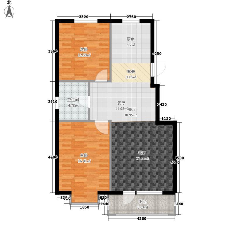 合美华庭90.00㎡合美华庭户型图4、10、11#楼户型3室2厅1卫1厨户型3室2厅1卫1厨