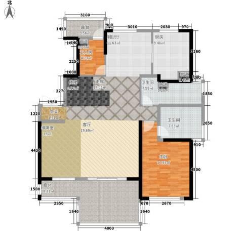 山水人家1室1厅2卫1厨292.00㎡户型图