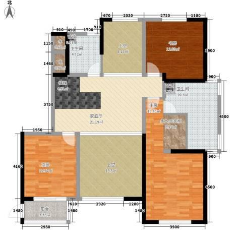 山水人家3室0厅2卫0厨292.00㎡户型图
