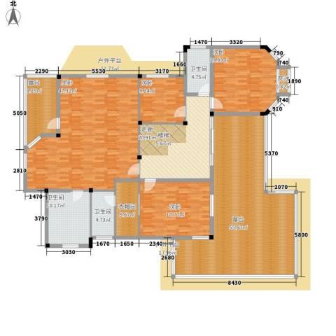 塑皇观云邸4室0厅3卫0厨372.00㎡户型图