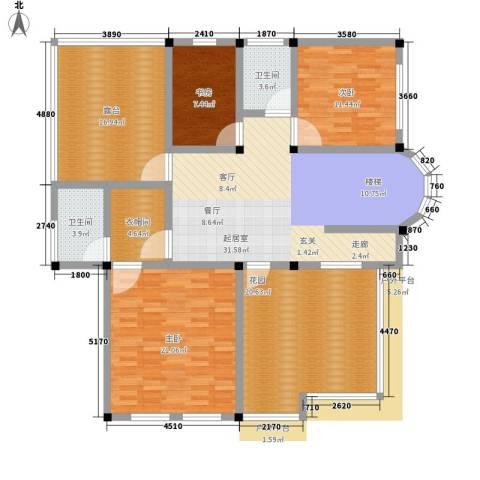 塑皇观云邸3室0厅2卫0厨372.00㎡户型图