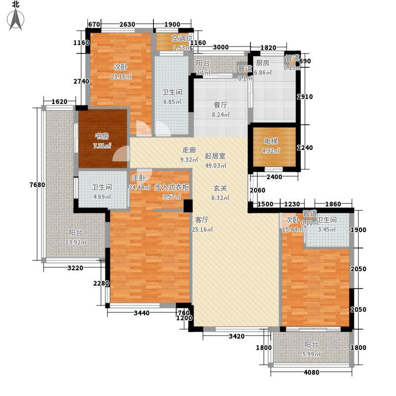 盛世香园182.00㎡盛世香园户型图L户型4室2厅3卫户型4室2厅3卫