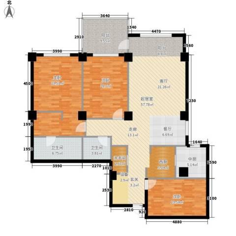 海御193室0厅2卫0厨194.00㎡户型图
