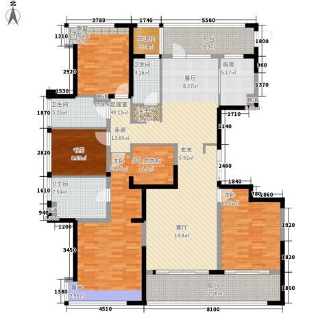 泰悦湾4室0厅3卫1厨196.00㎡户型图