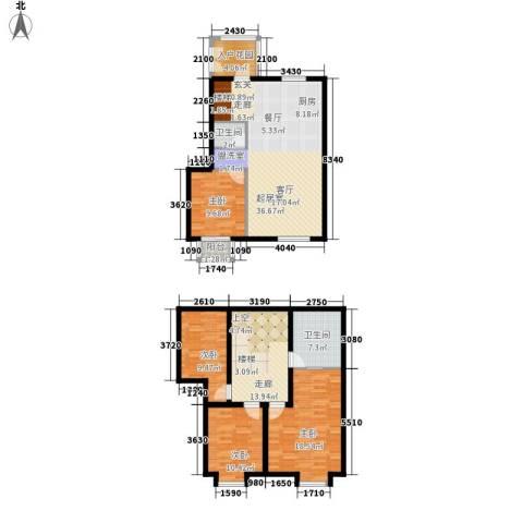 颐合庄园4室0厅2卫0厨128.55㎡户型图