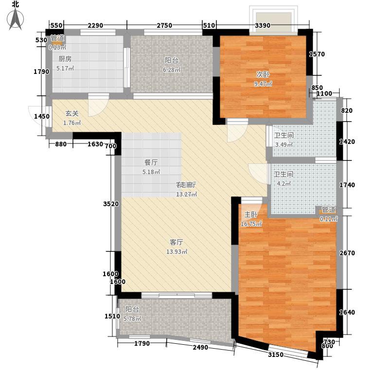世纪东山98.94㎡3期28、29、30、面积9894m户型