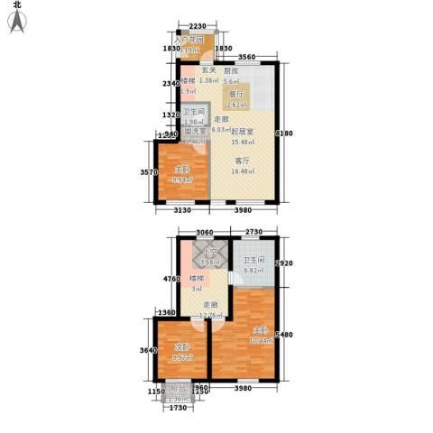 颐合庄园3室0厅2卫0厨111.90㎡户型图