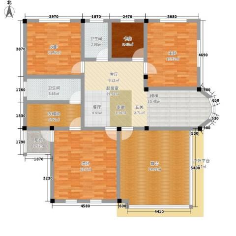 塑皇观云邸4室0厅2卫0厨269.00㎡户型图