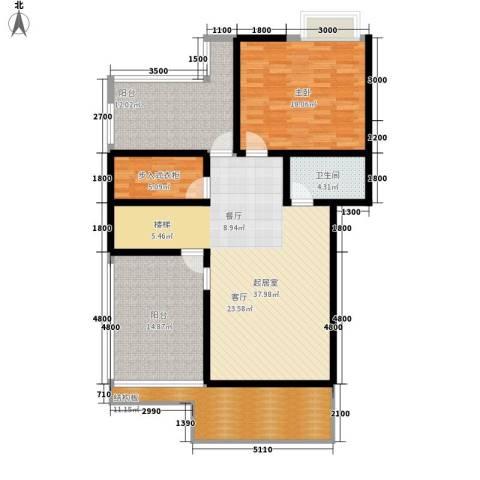 飞英家园1室0厅1卫0厨110.00㎡户型图
