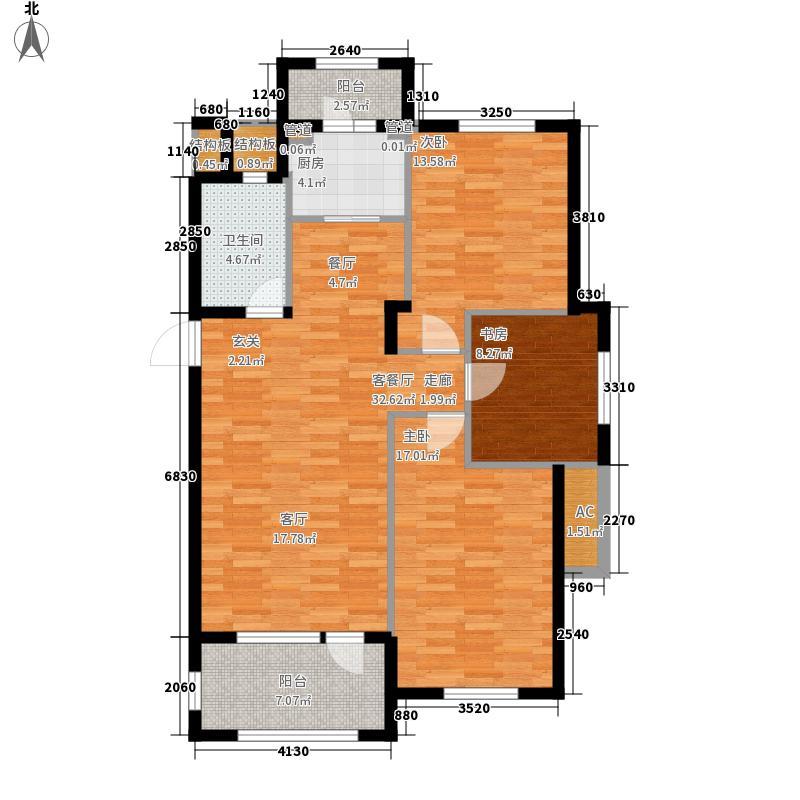 宏都峰景110.00㎡宏都峰景户型图4#楼B3户型3室1厅1卫1厨户型3室1厅1卫1厨
