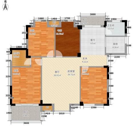 黄州宇济一号4室0厅2卫1厨139.00㎡户型图