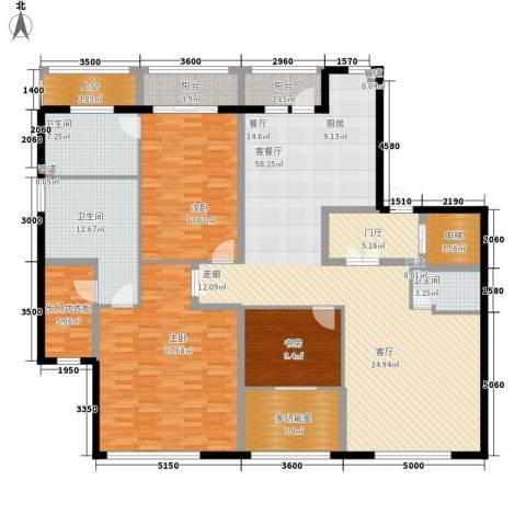 荣兴云天3室1厅3卫0厨193.00㎡户型图