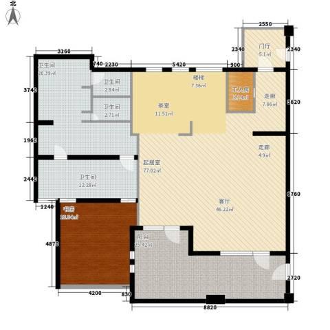 伊顿国际1室0厅4卫0厨184.62㎡户型图