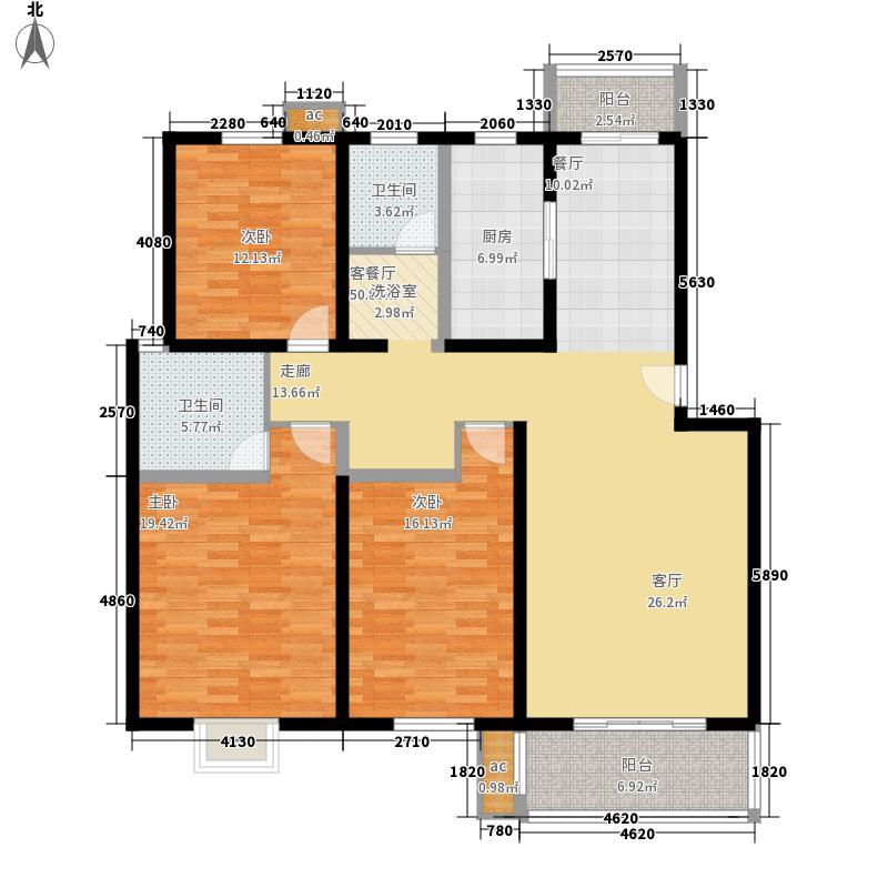 安居苑西村143.00㎡安居苑西村3室户型3室