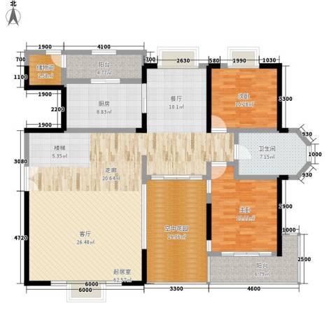 长沙嘉华城2室0厅1卫1厨272.00㎡户型图