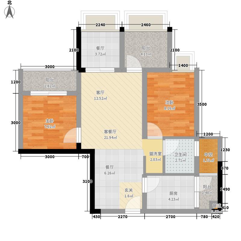 东马・滨江新城东马・滨江新城A2印户型10室