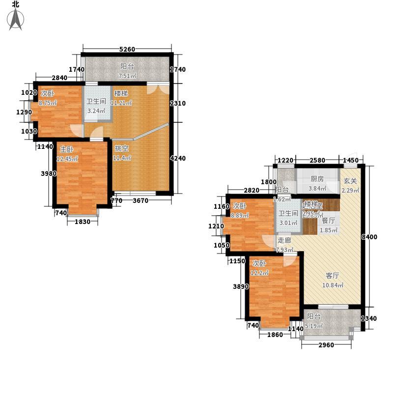海茵巴塞罗那132.53㎡5#E1户型4室3厅2卫1厨