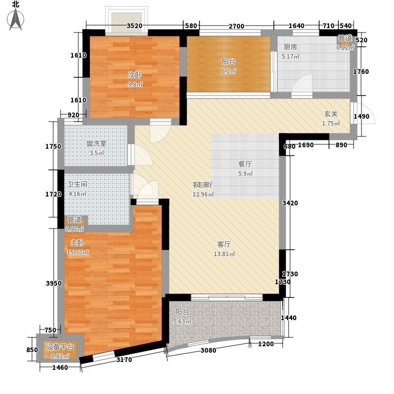 世纪东山98.88㎡3期28、29、30、面积9888m户型