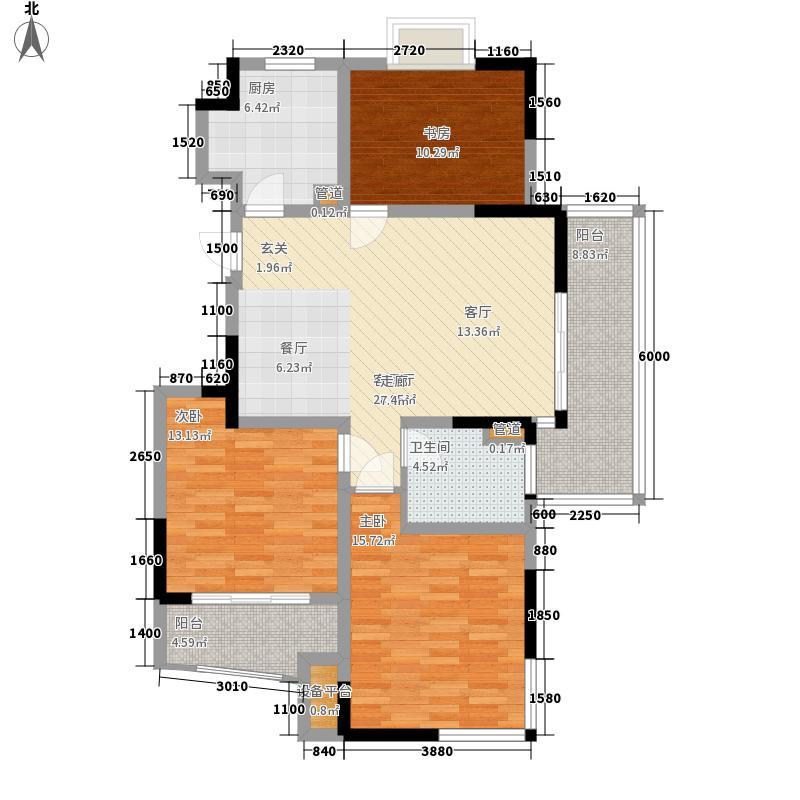 世纪东山108.28㎡3期28、29、30、面积10828m户型