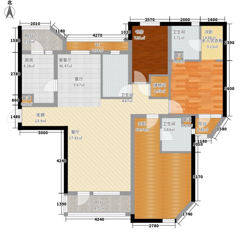 仁恒海河广场163.00㎡二期10号楼面积16300m户型