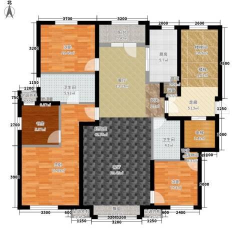 绿地中央墅4室0厅2卫1厨138.00㎡户型图