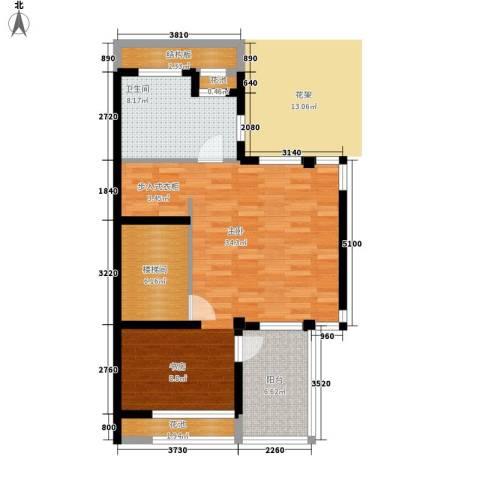 三江尊园1室0厅1卫0厨200.00㎡户型图