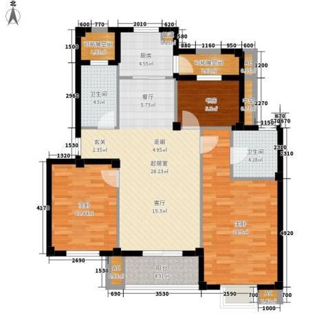 伊顿华府3室0厅2卫1厨108.00㎡户型图