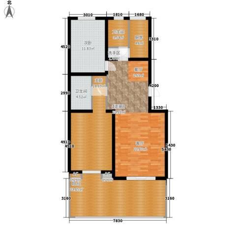 东北师范大学第一教职工住宅区2室0厅2卫1厨145.00㎡户型图
