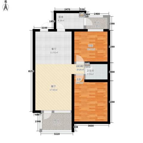吉祥家园2室0厅1卫1厨125.00㎡户型图