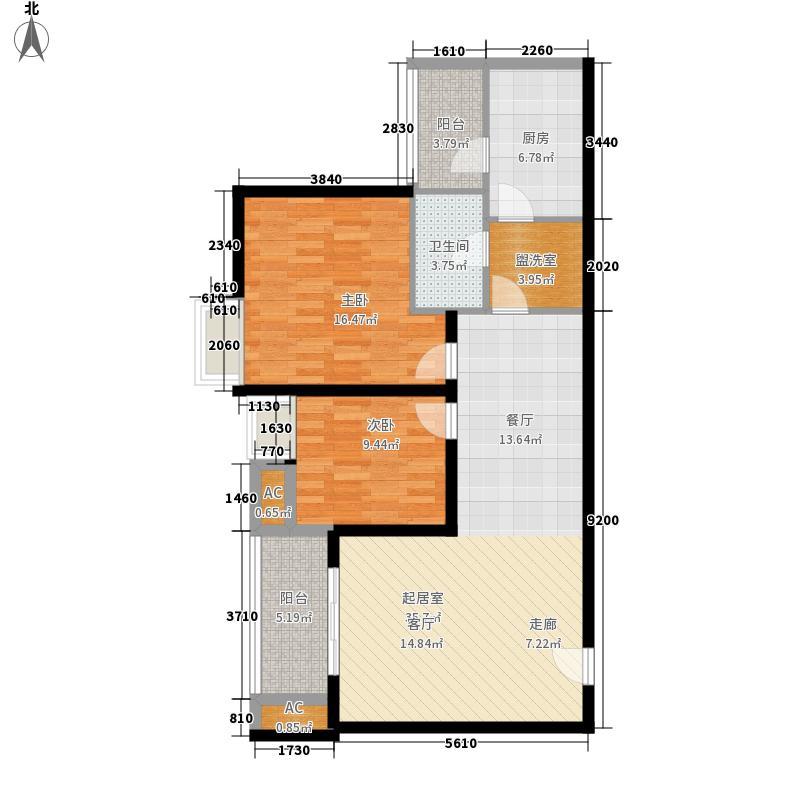 新港名都花园116.00㎡新港名都花园户型图户型图2室2厅2卫1厨户型2室2厅2卫1厨