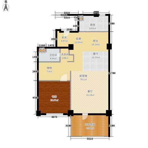 海御191室0厅1卫1厨143.00㎡户型图