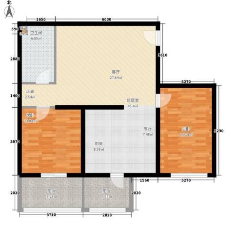 金圣甲第2室0厅1卫0厨102.00㎡户型图