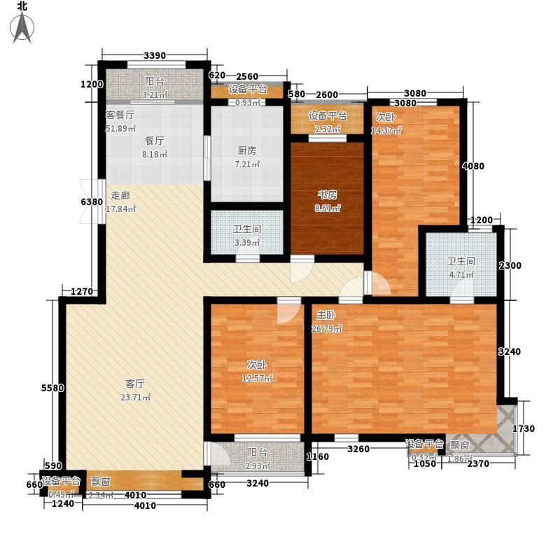 解放新村160.00㎡解放新村户型图4室户型图4室2厅2卫1厨户型4室2厅2卫1厨
