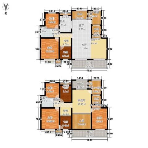 大顺花园8室0厅2卫1厨368.00㎡户型图