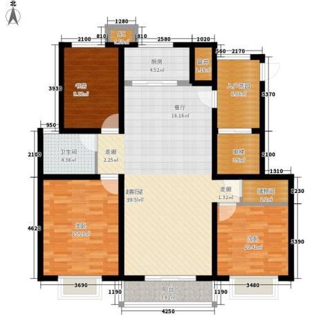 大顺花园3室0厅1卫1厨143.00㎡户型图