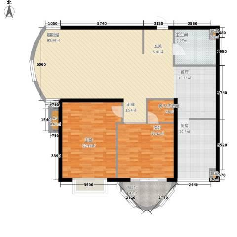 国际海景城2室0厅1卫1厨150.00㎡户型图