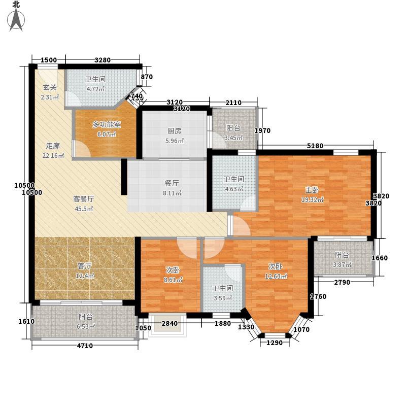 中颐海伦堡花园141.18㎡55座04户面积14118m户型