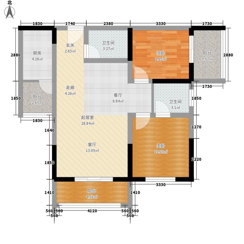最空间最空间户型图(2/37张)户型10室