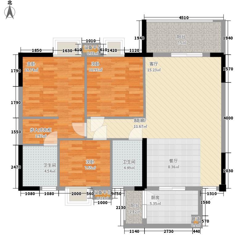 宝庆府邸・观园3室2厅2卫
