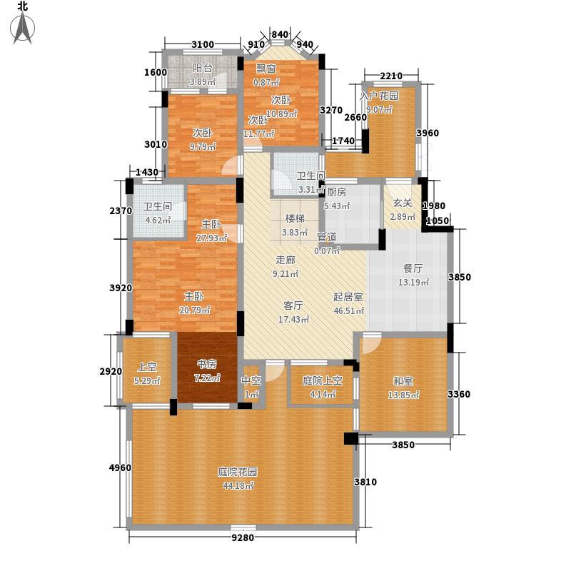 旭辉朗香郡148.37㎡A1-1(已售完面积14837m户型