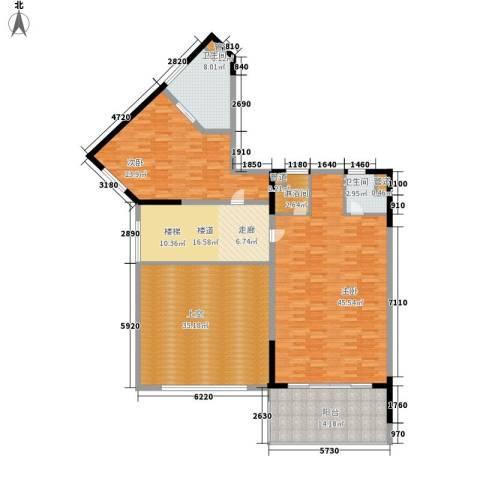 博鳌宝莲城2室0厅2卫0厨232.00㎡户型图