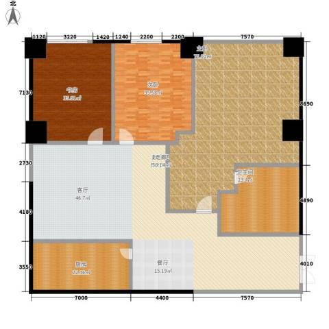 天幕阔景3室0厅1卫1厨334.00㎡户型图