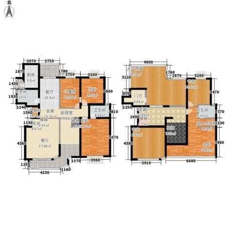 盛世名门5室0厅3卫1厨259.00㎡户型图