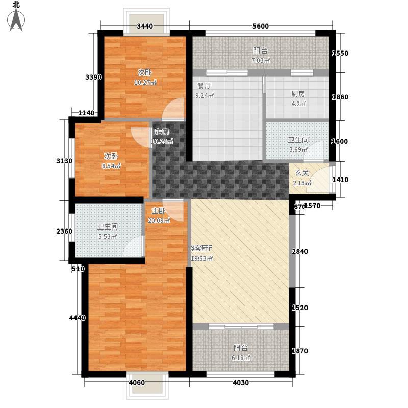 园城143.00㎡A2户型4室2厅
