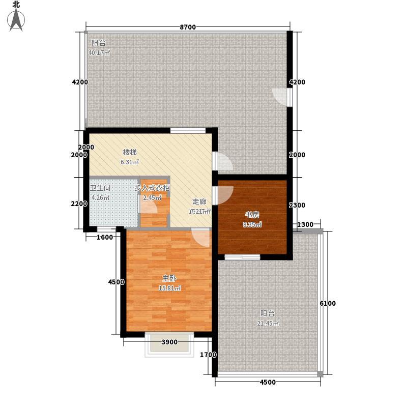山水兴城兰州房地产楼市中和地产山水兴城D-2复式跃层户型