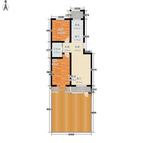 快乐老家2室0厅1卫0厨163.00㎡户型图