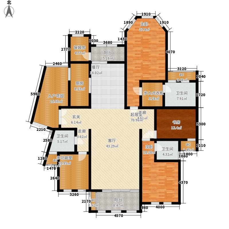中隆国际御玺241.00㎡9号楼T面积24100m户型