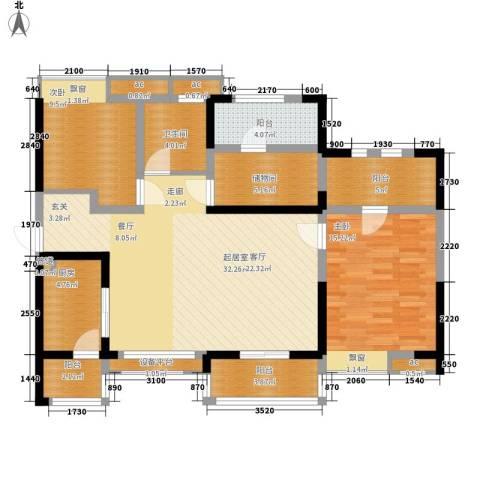 峰度天下2室0厅1卫1厨114.00㎡户型图
